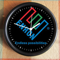ENRON ENDLESS POSSIBILITIES10 inch Resin Wall Clock Movie Under 25.00