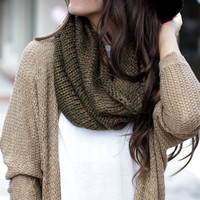 Trust Me Green & Brown Scarf – Dress Up
