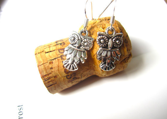 Owl earrings Cute Jewelry Free Shipping