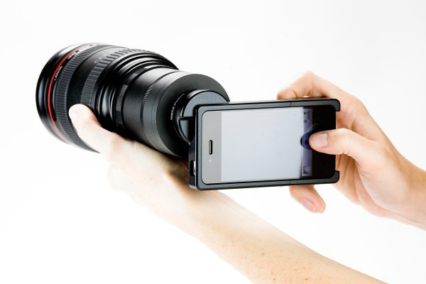 The iPhone 4 SLR Mount