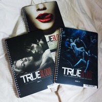 Set of 3 True Blood notebooks - seasons 1-3