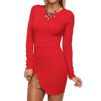 Red She Devil Dress