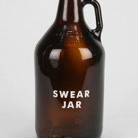 Swear Jar Bank - Brown One Size- Brown One