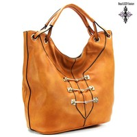 Royal Lizzy Couture L'espoir de soldats Shoulder Tote - Assorted Colors