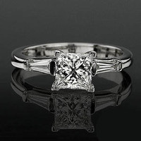 Engagement Rings -  .19 ctw 14K Gold Diamond Engagement Ring