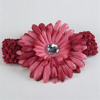 Red Baby Flower Headband