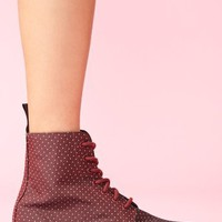 Evan 7 Eye Boot - Cherry Dot
