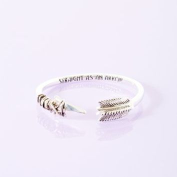 Straight As An Arrow Bangle