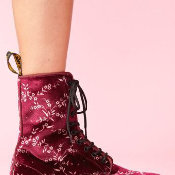 Avery 10 Eye Boot - Cherry Blossom
