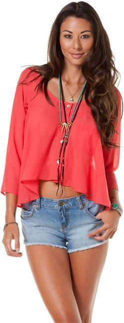 SWELL TRISTA TOP in pink or blue