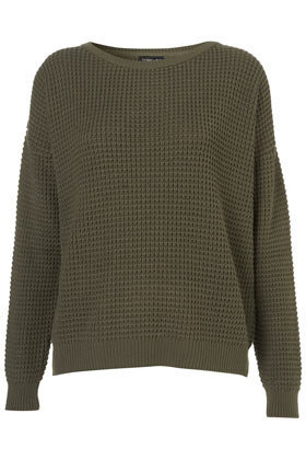 Knitted Textured Stitch Jumper - Style Steals  - New In