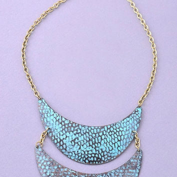 Turquoise Heirloom Necklace - TURQUOISE