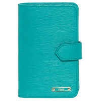 Fendi 'Crayons' Turquoise Leather Bi-fold Wallet