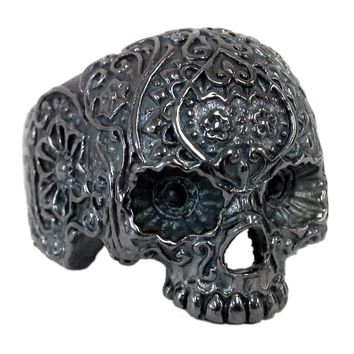 """Jawless Skull"" Ring by Lor G Jewellery"