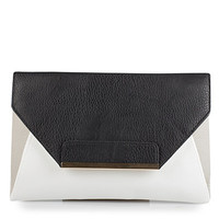 Colour Block Envelope Clutch