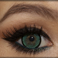GEO Nova Green Colored Eye Contact Lenses