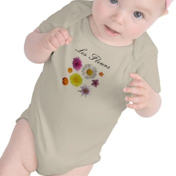 Les Fleurs One Piece Outfit for Babies & Toddlers