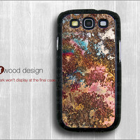 Samsung cases Galaxy SIII Galaxy S3 i9300 Case unique Case Samsung Case colorized metal image  design