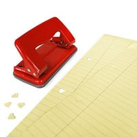 HEART HOLE PUNCH | Office Supplies, Binder, Desktop, Love, Valentine's Day | UncommonGoods