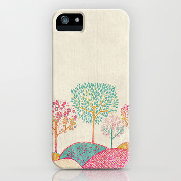 Golden Garden  iPhone & iPod Case by rskinner1122