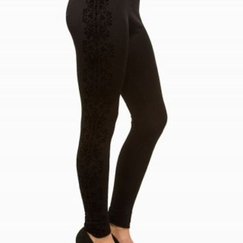 SIDE FLOCKED LEGGINGS