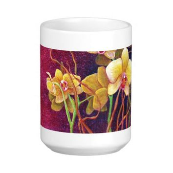 Orchids Among The Willow Mug