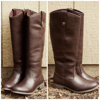 Alexander Riding Club Brown Riding Boots