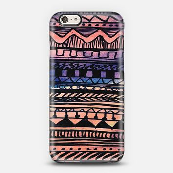 Sunset Aztec Pattern iPhone 5s case by Organic Saturation | Casetify