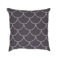 Dots and Scallops Pillow