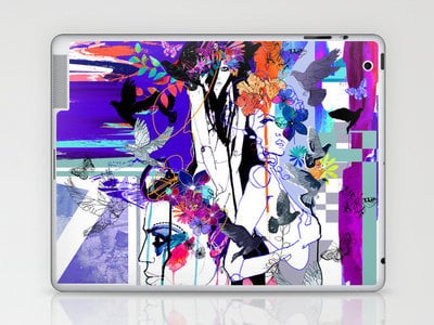 Fever Laptop & iPad Skin by Holly Sharpe | Society6