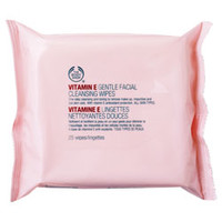 Vitamin E Gentle Facial Cleansing Wipes | The Body Shop ®