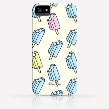 Cute Popsicles dessert Ice Cream Pattern iPhone 4/4s iPhone 5/5s Case