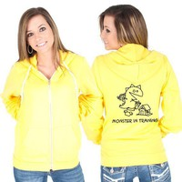 Monster in Training American Apparel Hoodie