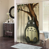 totoro special custom shower curtains that will make your bathroom adorable