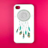 DreamCatcher Iphone 4 Case - Turquoise DreamCatcher Iphone 4s Case, Iphone Case