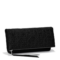 Midnight Gabriel Fold Over Clutch