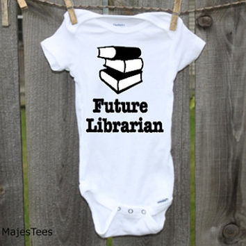 Future Librarian Onesuits®, Books