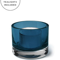 Product: Set of 12, Artisan Vellas Holders and 8hr Tealight Candles