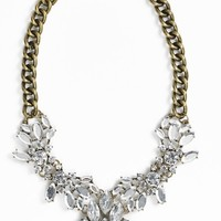 BP. Crystal Cluster Bib Necklace (Juniors)