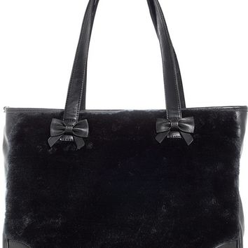"""Fer Sure"" Tote Bag by Sourpuss Clothing (Black)"