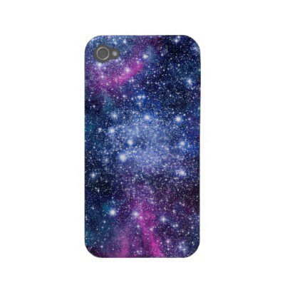 Galaxy Stars iPhone Case from Zazzle.com
