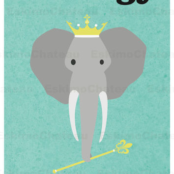 Zoology 11x17 minimalism poster print - Graduation, Teacher Gifts - Home & Dorm Decor