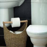 Seagrass Loo Roll Store - Large - Home Storage Systems From Store