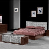 Zuo Arienne Storage Platform Bed - 880003, Storage Platform Bed, Beds And Bedroom Sets: Nyfurnitureoutlets.com