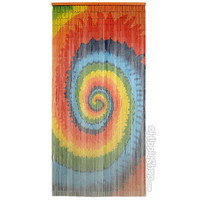 Tie Dye Spiral Door Beads on Sale for $29.95 at HippieShop.com