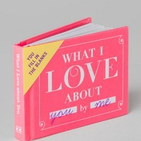 What I Love Book