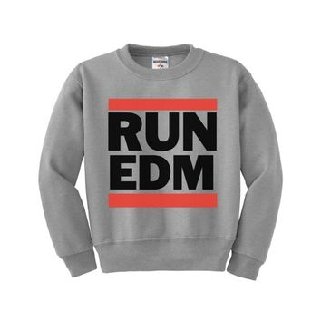 Run EDM Kids Sweatshirt