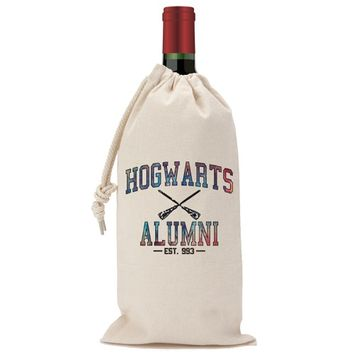 Hogwarts Alumni Galaxy Wine Bag