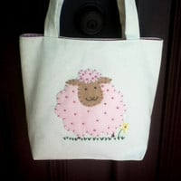 Canvas Tote Bag SheepTote Small