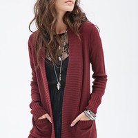 FOREVER 21 Purl Knit Cardigan